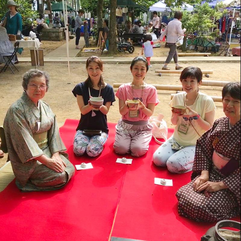 八王子ヨガ祭りワンコイン茶会