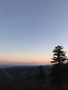 初詣は高尾山へ