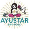 AYUSTAR(SPA&YOGAサロン/宮城県大崎市)ロゴとキャラクター