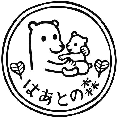 子育てサロンクマの親子ロゴ